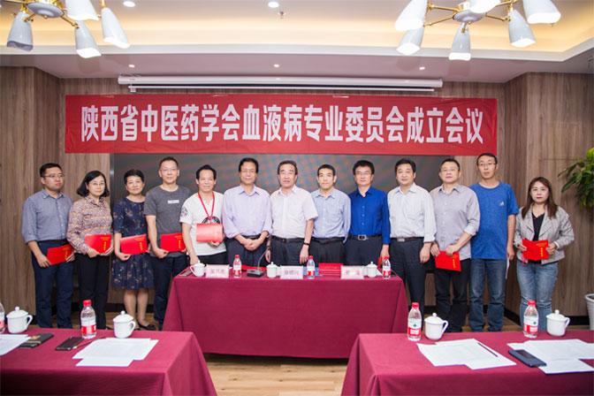 陕西省中医药学会血液病专业委员会正式成立